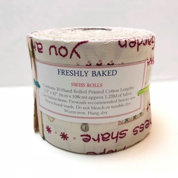 Jelly Rolls - Freshly Baked