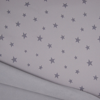 Magic Soft Shell stars Grey