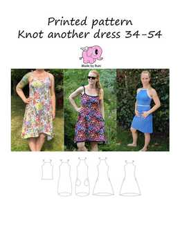 916. Knot Another Dress str. 34-54 / MADE BY RUNI
