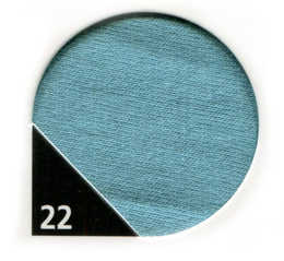 40 mm kantband Dusty Aqua 22 5 m - 40:-