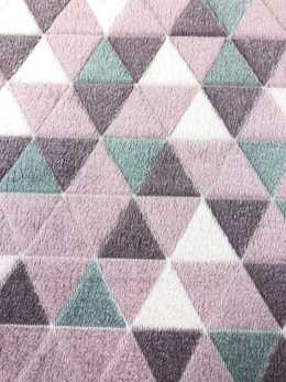 Triangel pink Fleece