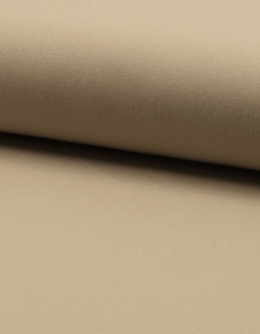 Gabardin med stretch Sand
