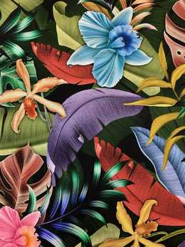 Viscose jersey Tropical