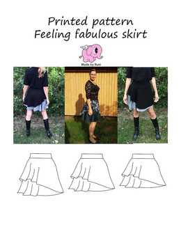 924. Feeling Fabulous Adult str. 34-54  / MADE BY RUNI