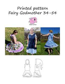 922. Fairy Godmother str. 34-54 (US 4-24) / MADE BY RUNI