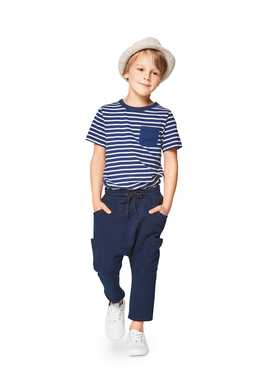 9342. Burda - CHILD'S ELASTIC WAISTBAND TROUSERS