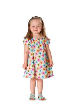 9438. Burda - TODDLERS DRESS & SHIRT