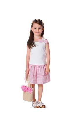 9442. Burda - CHILDRENS SKIRT
