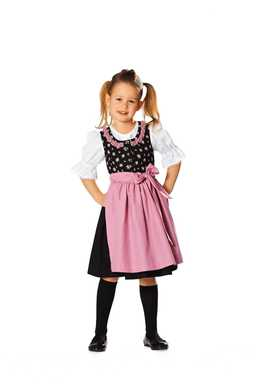 9509. Burda - CHILDRENS DIRNDL DRESS