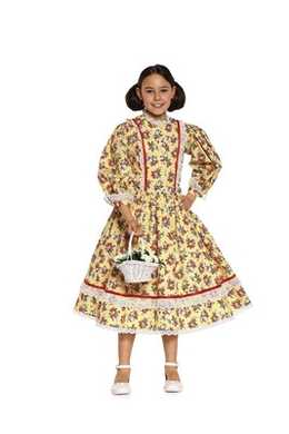 9529. Burda - CHILDRENS BIEDERMEIER DRESS