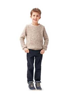 9407. Burda - CHILDREN'S SWEATER