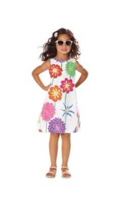 9444. Burda - CHILDRENS DRESS