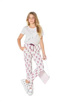 9324. Burda -  BURDA STYLE PATTERN CHILD'S ELASTIC WAIST PANTS