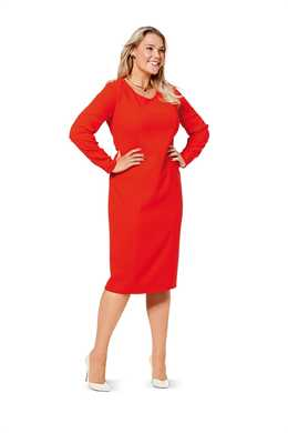 6620. Burda Dam - DRESS PLUS SIZES