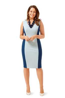 6676. Burda Dam - DRESS PLUS SIZES