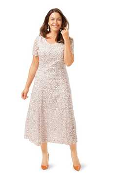 6680. Burda Dam - DRESS PLUS SIZES