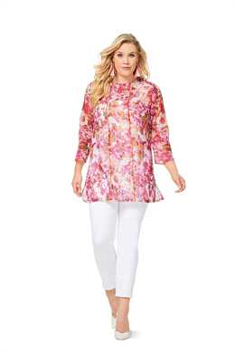 6552. Burda Dam - WOMEN'S BLOUSE PLUS SIZES