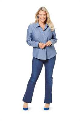 6614. Burda Dam - TOP PLUS SIZES