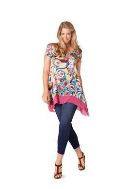 6786. Burda Dam - TUNIC PLUS SIZES