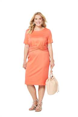 6304. Burda Dam - BURDA STYLE PATTERN 6304 WOMEN'S JERSEY DRESS