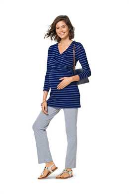 6347. Burda Dam - BURDA STYLE PATTERN MISSES' MATERNITY TOP
