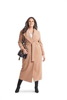 6394. Burda Dam - WOMEN'S WRAP COAT