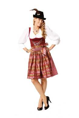 7443. Burda Dam - DIRNDL DRESS