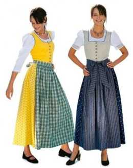 8448. Burda Dam - DIRNDL DRESS