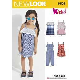 New Look 6502 - Klännning Jumpsuit - Flicka