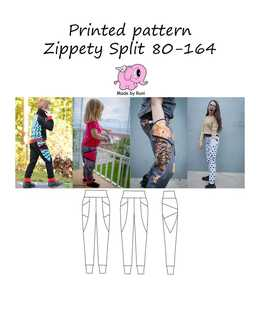 Made by Runi - R4. Zippety Split 80-164