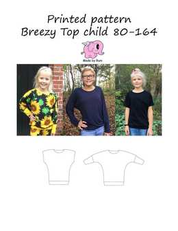 Made by Runi - R3. Breezy top child size 80-164