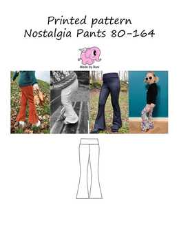 Made by Runi - R2. Nostalgia pants 80-164