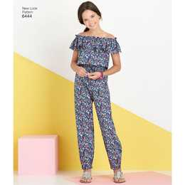 New Look 6444 - Klännning Jumpsuit - Flicka