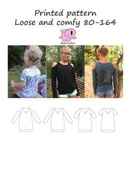 15. Loose And Comfy str.80-164 / MADE BY RUNI