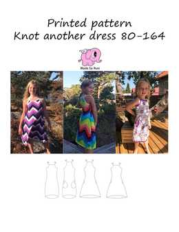 17. Knot Another Dress str.80-164 / MADE BY RUNI
