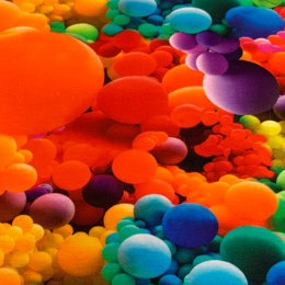 Colorful bubbels