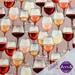 A Glas of wine - Zelected By ZannaZ