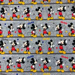 Mickey on line Trikåtyg